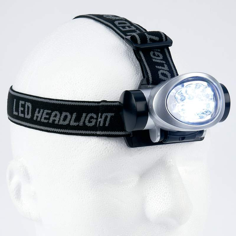 Wholesale 8-Bulb LED Head Lamp for sale at bulk cheap prices!