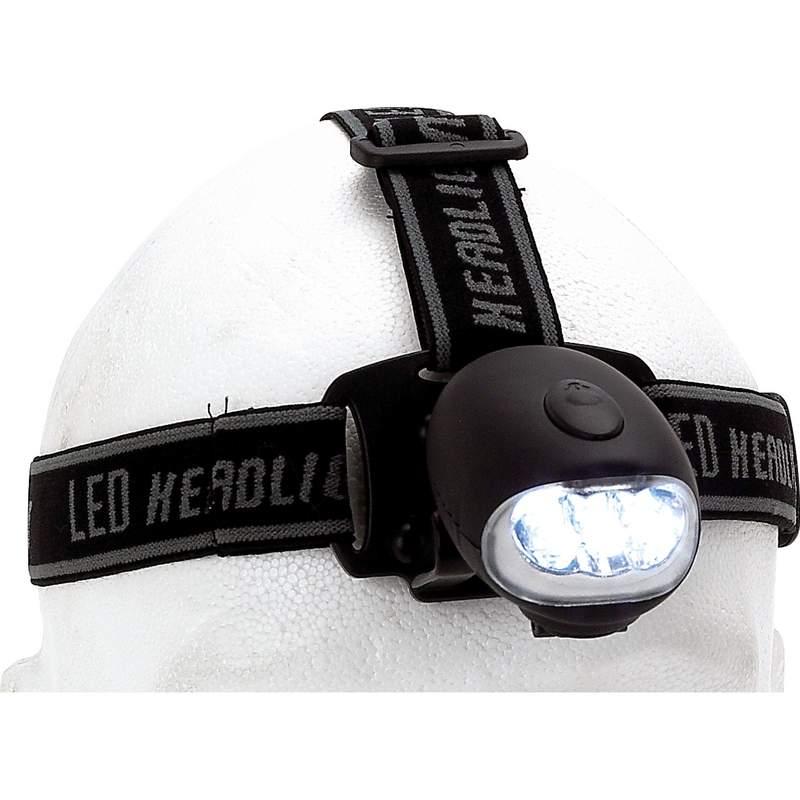 Wind-Up LED Head Lamp