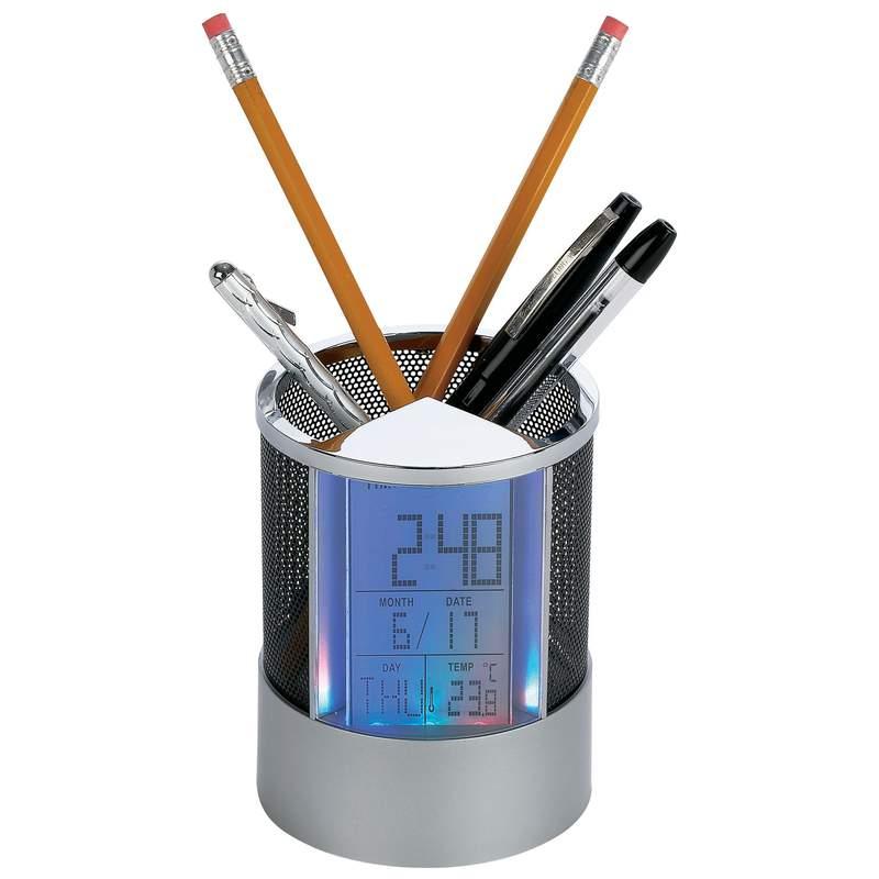 Pen Holder Clock