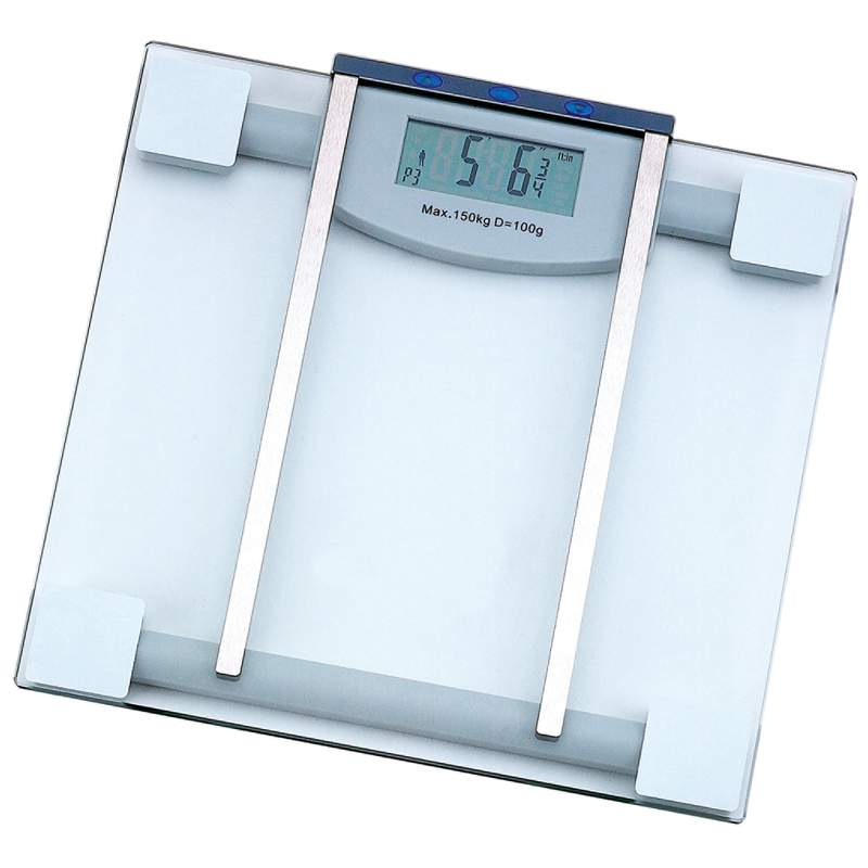 Glass ELECTRONIC Body Fat Scale