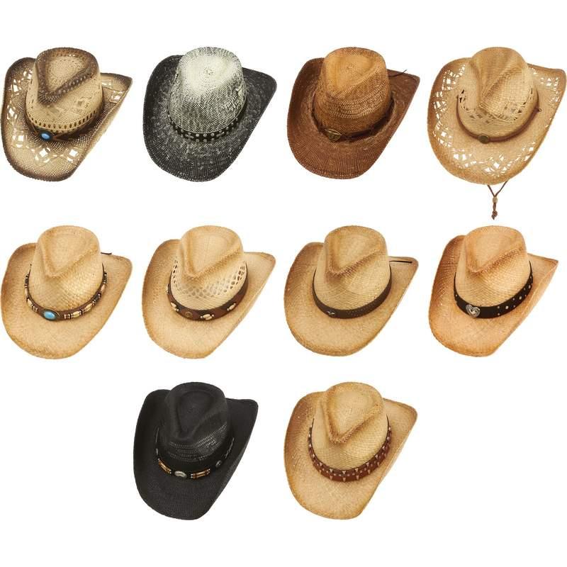 Wholesale 10pc Cowboy Hat Set for sale at bulk cheap prices! 504120398ca3