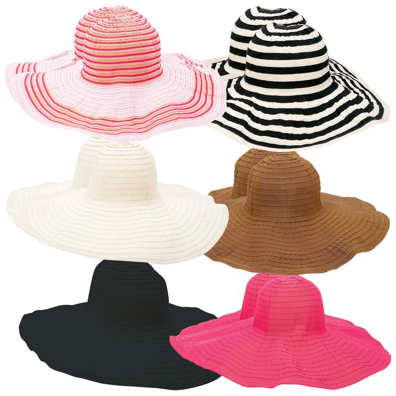 7a9f96909 Wholesale 12pc Assorted Ladies Floppy Sun Hat Set for sale at bulk cheap  prices!