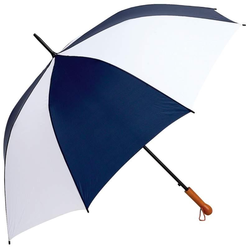 "Wholesale Elite Series 60"" Navy and White Auto Open Golf Umbrella for sale at bulk cheap prices!Wholesale Elite Series 60"" Navy and White Auto Open Golf Umbrella for sale at  bulk cheap prices!"