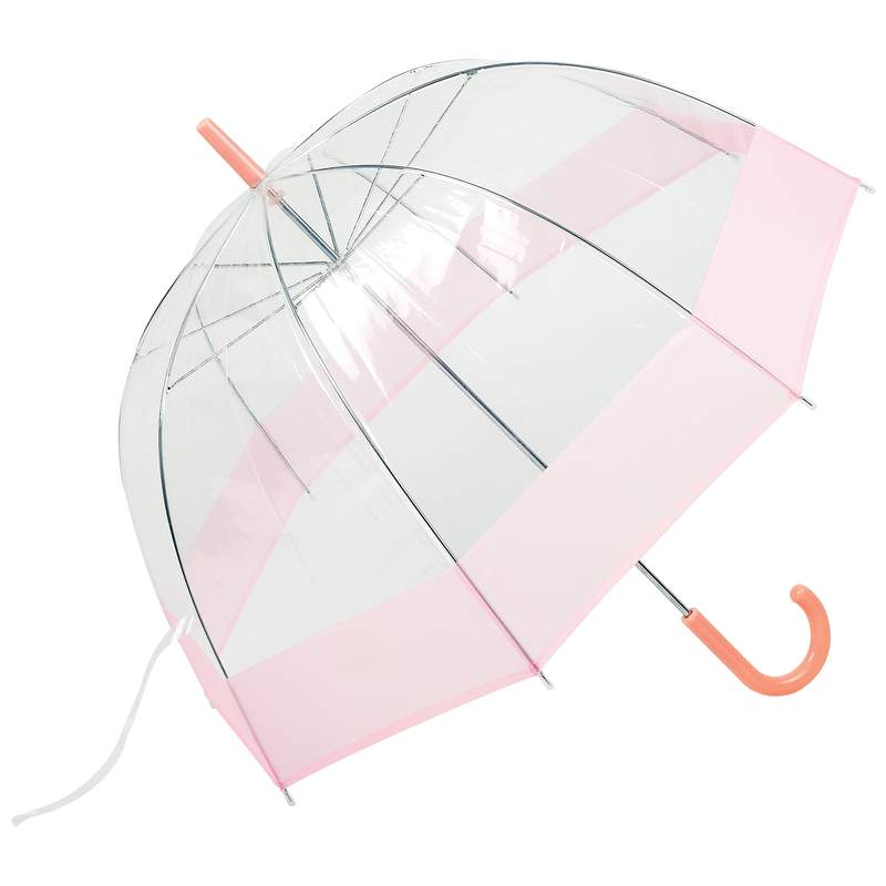 """Wholesale 42"""" Pink Dome Umbrella for sale at  bulk cheap prices!"""
