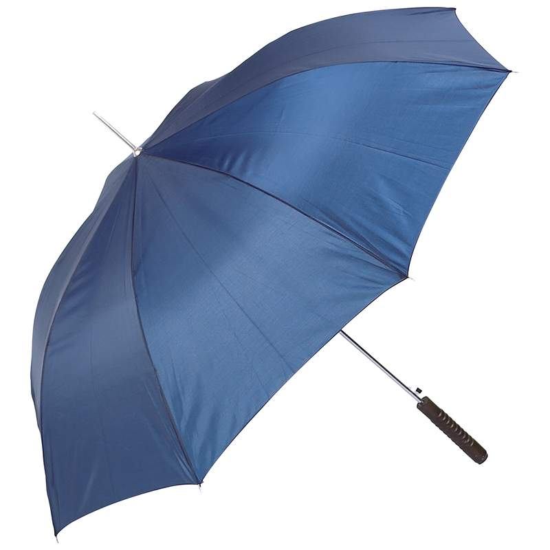 """Wholesale 48"""" Polyester Auto Open Navy Umbrella for sale at  bulk cheap prices!"""