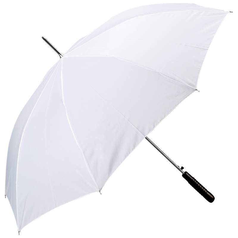 "Wholesale 48"" White Wedding Auto Open Umbrella"