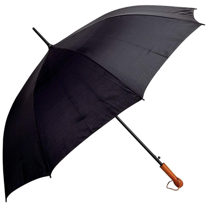 "Elite Series 60"" Black Auto Open Golf Umbrella"