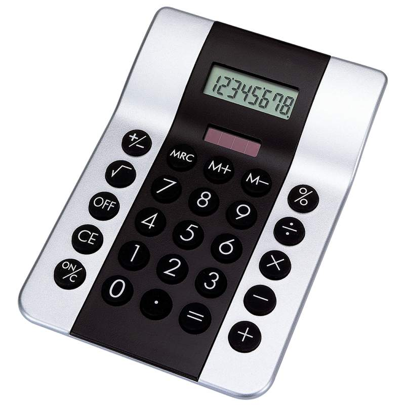 Dual-Powered CALCULATOR