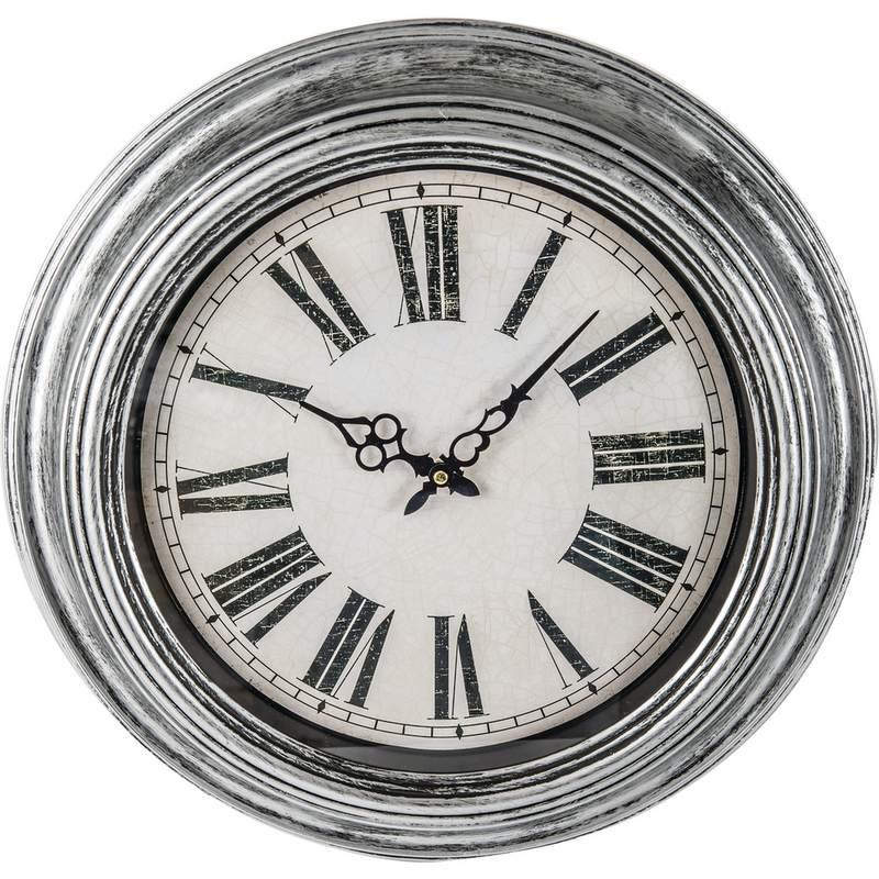 Wholesale 20 Antique Silver Round Wall Clock Buy Wholesale Clocks