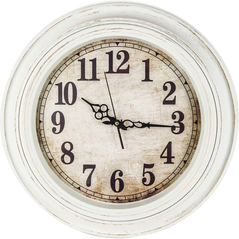 wholesale 20 antique white round wall clock buy