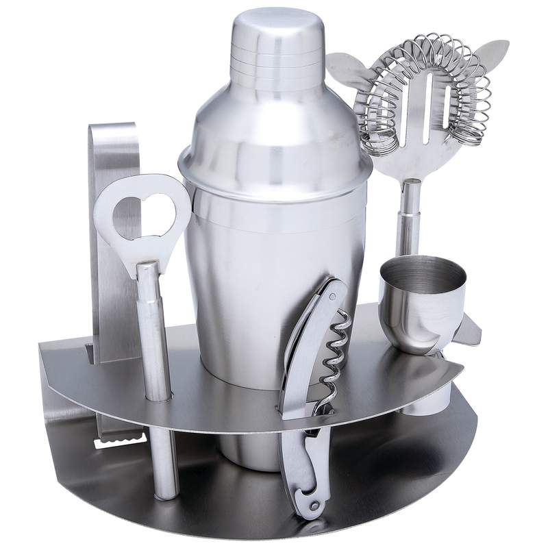 7pc Stainless Steel Bar Set