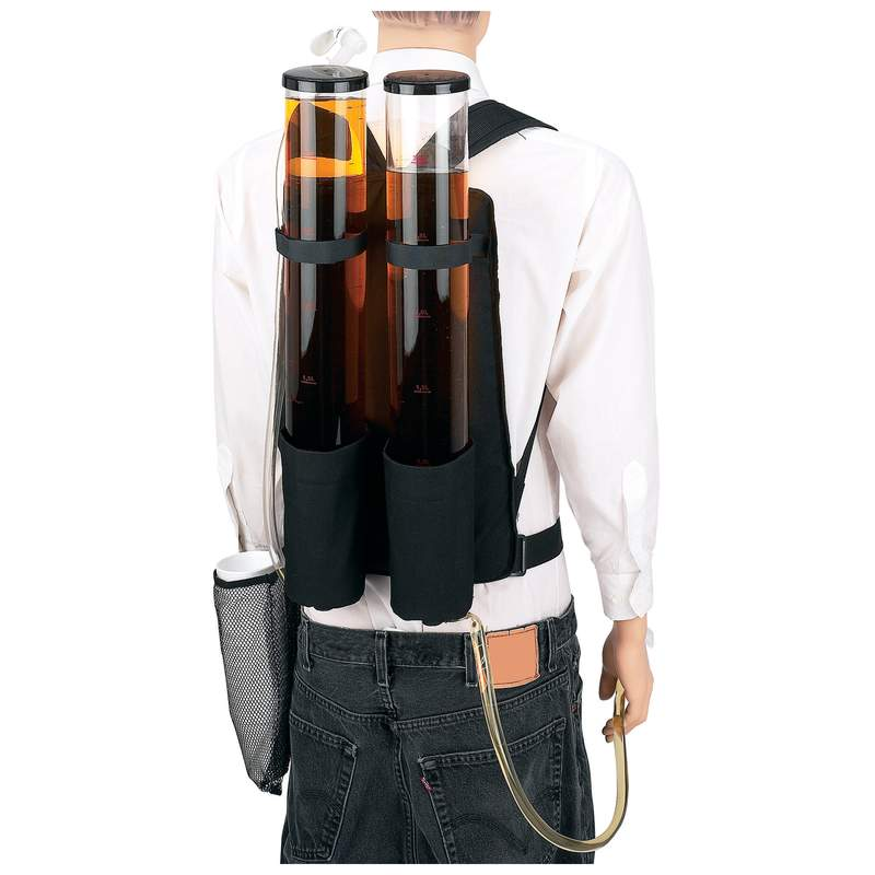 Wholesale Dual Beverage Dispenser Backpack for sale at bulk cheap prices!
