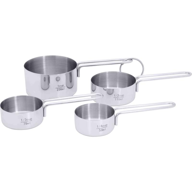 Wholesale 4Pc Steel Measuring Cup Set for sale at  bulk cheap prices!