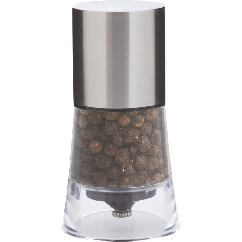Wholesale Stainless Steel & Acrylic Pepper Mill for sale at bulk cheap prices!