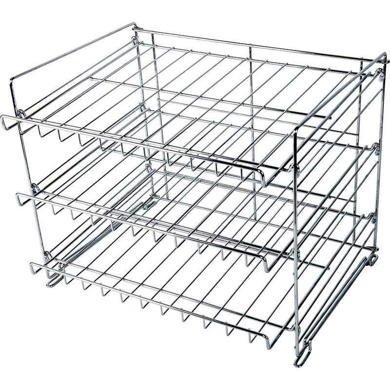 Wholesale 3 Layer Wire Can Rack