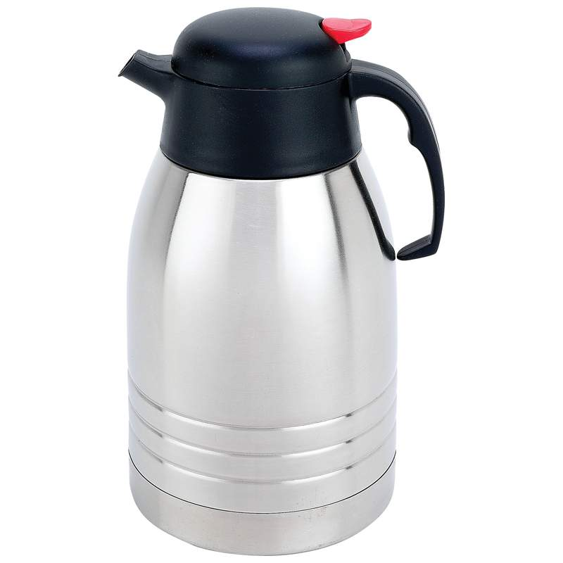 Vacuum Coffee Maker Metal : Wholesale 2Qt Steel Vacuum Coffee Pot - Buy Wholesale Dinnerware