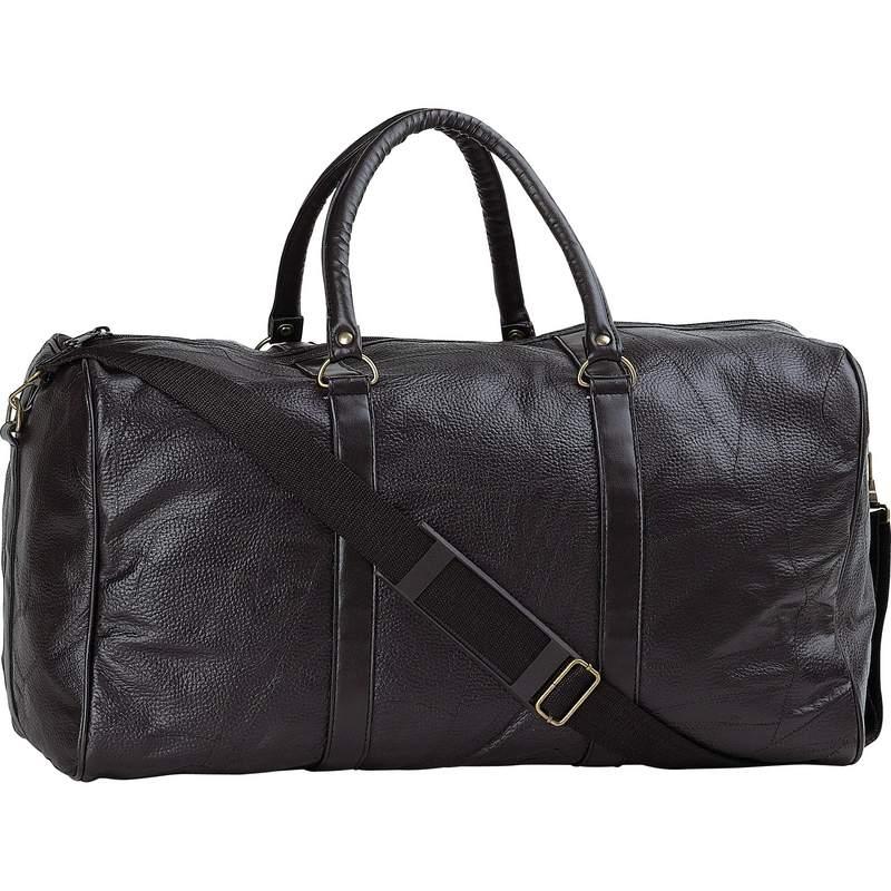 ''21'''' Leather DUFFLE BAG''