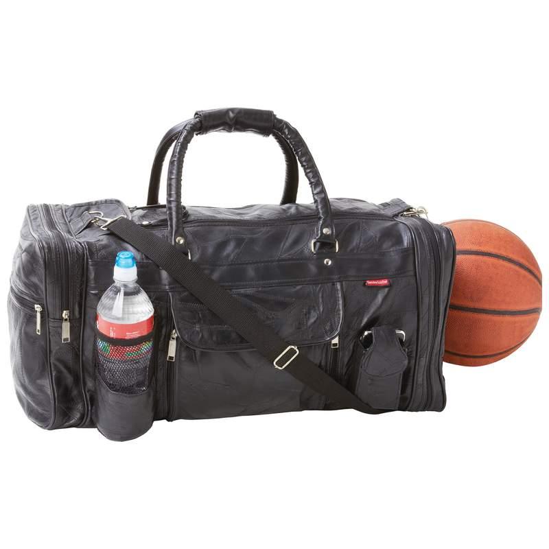 ''23'''' Genuine Leather Gym Bag''