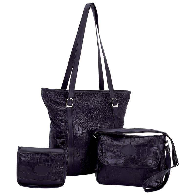 Leather 3pc Purse Set