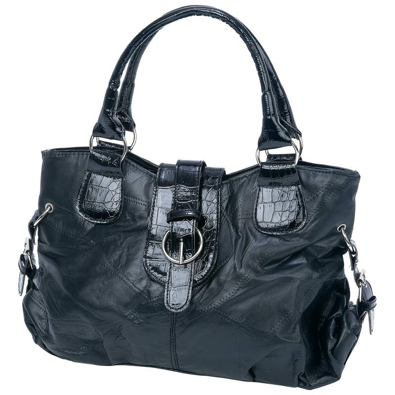 Wholesale Alligator Accent Lambskin Leather Purse for sale at  bulk cheap prices!