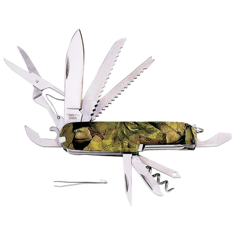 Wholesale 16-Function Camo Knife for sale at bulk cheap prices!