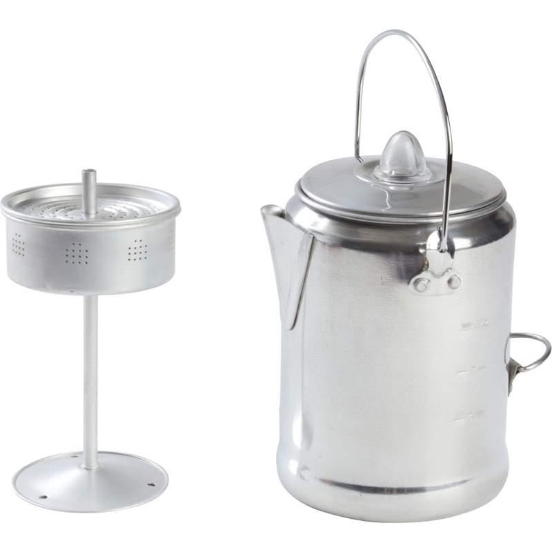 9-Cup Aluminum Coffee Percolator