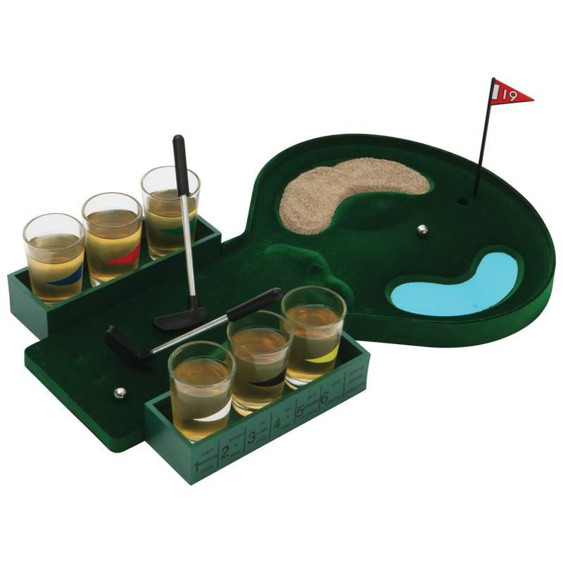 6-Shot Drinking GOLF Game