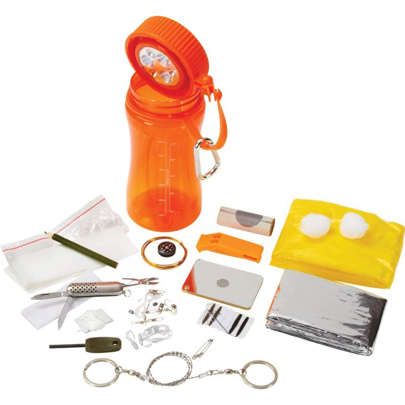 Wholesale 26pc Survival Kit for sale at bulk cheap prices!