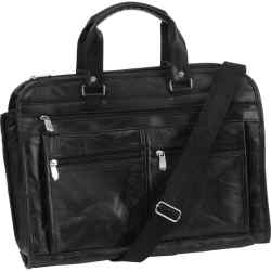Wholesale Genuine Buffalo Leather Concealed Carry Briefcase for sale at bulk cheap prices!
