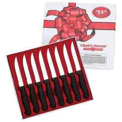 Wholesale Chef?s Secret 8pc Steak Knife Set for sale at bulk cheap prices!