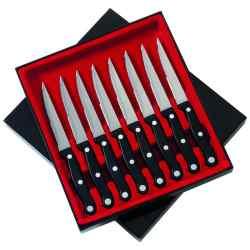 "Wholesale Slitzer 8pc 8-7/8"" Steak Knife Set for sale at bulk cheap prices!"