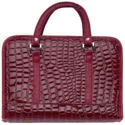 Wholesale Burgundy Faux Alligator Bible Cover for sale at bulk cheap prices!