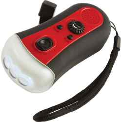 Wholesale Wind-Up FM Radio/3-Bulb LED Flashlight for sale at bulk cheap prices!