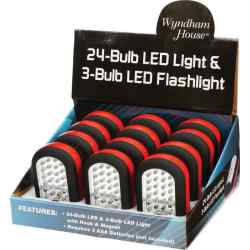 Wholesale 12pc LED Lights in Countertop Display for sale at bulk cheap prices!