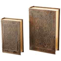 Wholesale 2pc Faux Book Safe Set for sale at bulk cheap prices!