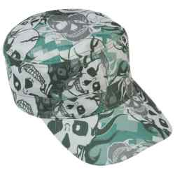 Wholesale Grey Skull Camo Design Cap for sale at  bulk cheap prices!