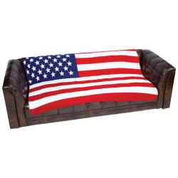 Wholesale United States Flag Print Fleece Throw for sale at bulk cheap prices!