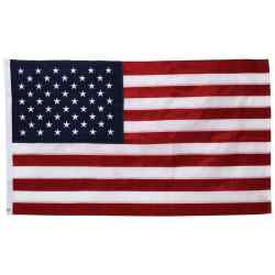 Wholesale 5 x 3 Embroidered United States Flag for sale at bulk cheap prices!