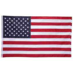 Wholesale 5 x 3 100% Oxford Nylon Embroidered USA Flag for sale at bulk cheap prices!