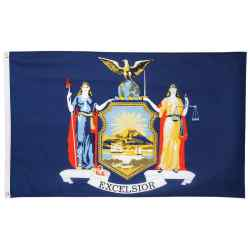 Wholesale 5 x 3 New York State Flag for sale at  bulk cheap prices!