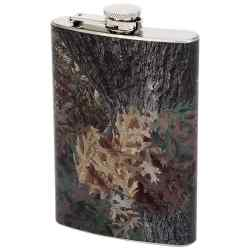 Wholesale 8oz Steel Flask with Camouflage Wrap for sale at  bulk cheap prices!