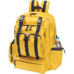 Wholesale Water-Resistant Yellow Backpack for sale at  bulk cheap prices!