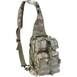 "Wholesale 11"" Digital Camo Sling Backpack for sale at  bulk cheap prices!"