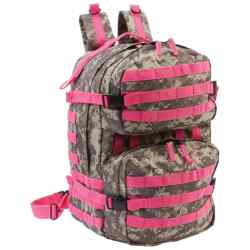 Wholesale Camo and Pink Heavy-Duty Backpack for sale at  bulk cheap prices!