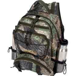 "Wholesale Tree Camo Water-Resistant 17"" Backpack for sale at  bulk cheap prices!"
