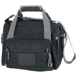 Wholesale Black Cooler Bag with Zip-Out Liner for sale at  bulk cheap prices!