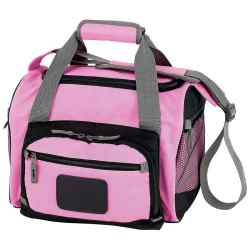 Wholesale Pink Cooler Bag with Zip-Out Liner for sale at  bulk cheap prices!