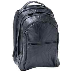 "Wholesale 18"" Genuine Leather Laptop Backpack for sale at  bulk cheap prices!"