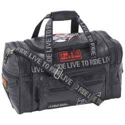 Wholesale Leather LIVE TO RIDE Tote Bag for sale at  bulk cheap prices!