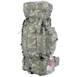 Camo Heavy-Duty Mountaineer's Backpack